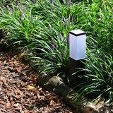 Tuinlamp vierkant 45 cm zwart