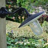 Buiten stallamp zwart wandlamp