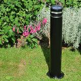 Buitenlamp zwart 230v staand modern