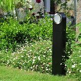 Led buitenlamp staand zwart 230v