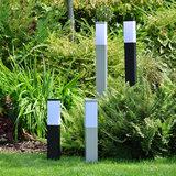 Led tuinverlichting vierkant 230 volt sfeerfoto