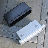 Buiten inbouwlamp met kunstof box