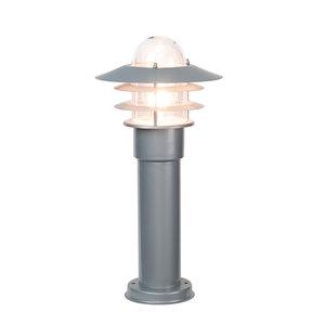 LED Buitenverlichting staand 230v zilver