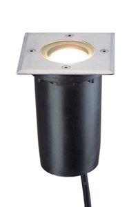 LED grondspot 230v vierkant